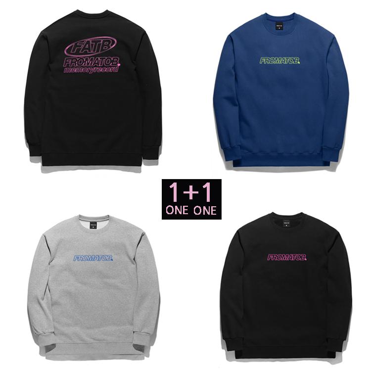 1 + 1  FROMATOB 프롬에이투비 TOB18MT303 맨투맨 티셔츠