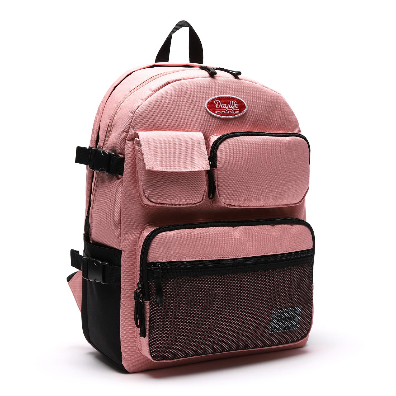 데이라이프 멀티 포켓 백팩 (핑크)