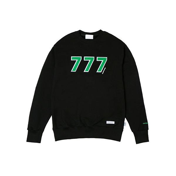 777 로고 스웨트셔츠 (블랙)