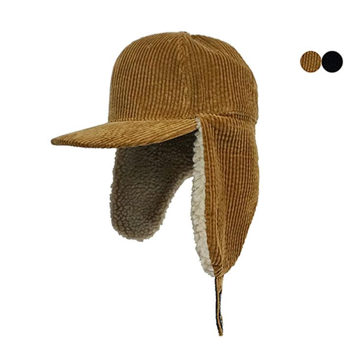 DUMBLE CORDUROY TRAPPER HAT(2COLOR)덤블 코듀로이 트래퍼햇