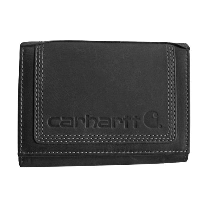 [국내배송][국내]칼하트 디트로이트 트리폴드 지갑 블랙 / CH-62244-001