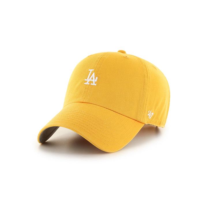 47브랜드 스몰로고 LA 다저스 클린업 옐로우골드 / B-BSRNR12GWS-YG