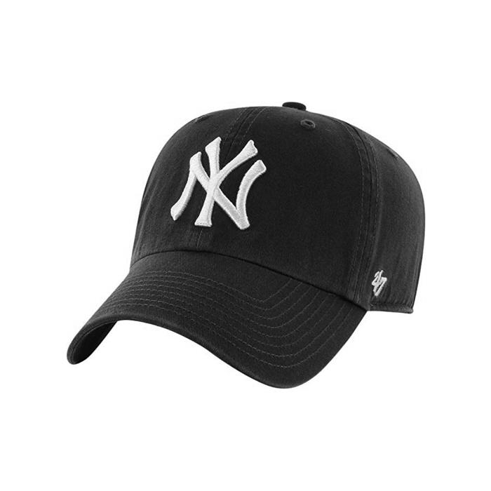 [단독할인][국내배송][국내배송]47브랜드 빅로고 NY 양키스 클린업 블랙 / BKG