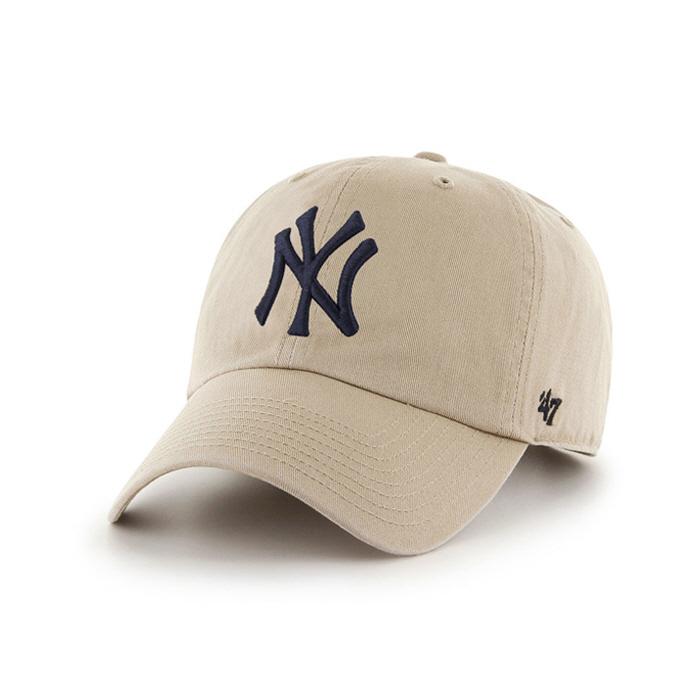 47브랜드 NY 양키스 클린업 카키 / B-RGW17GWS-KH