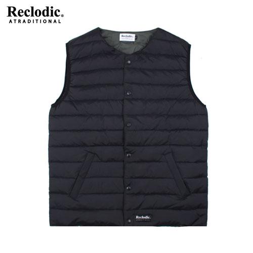 Duck down Quilting Vest Black