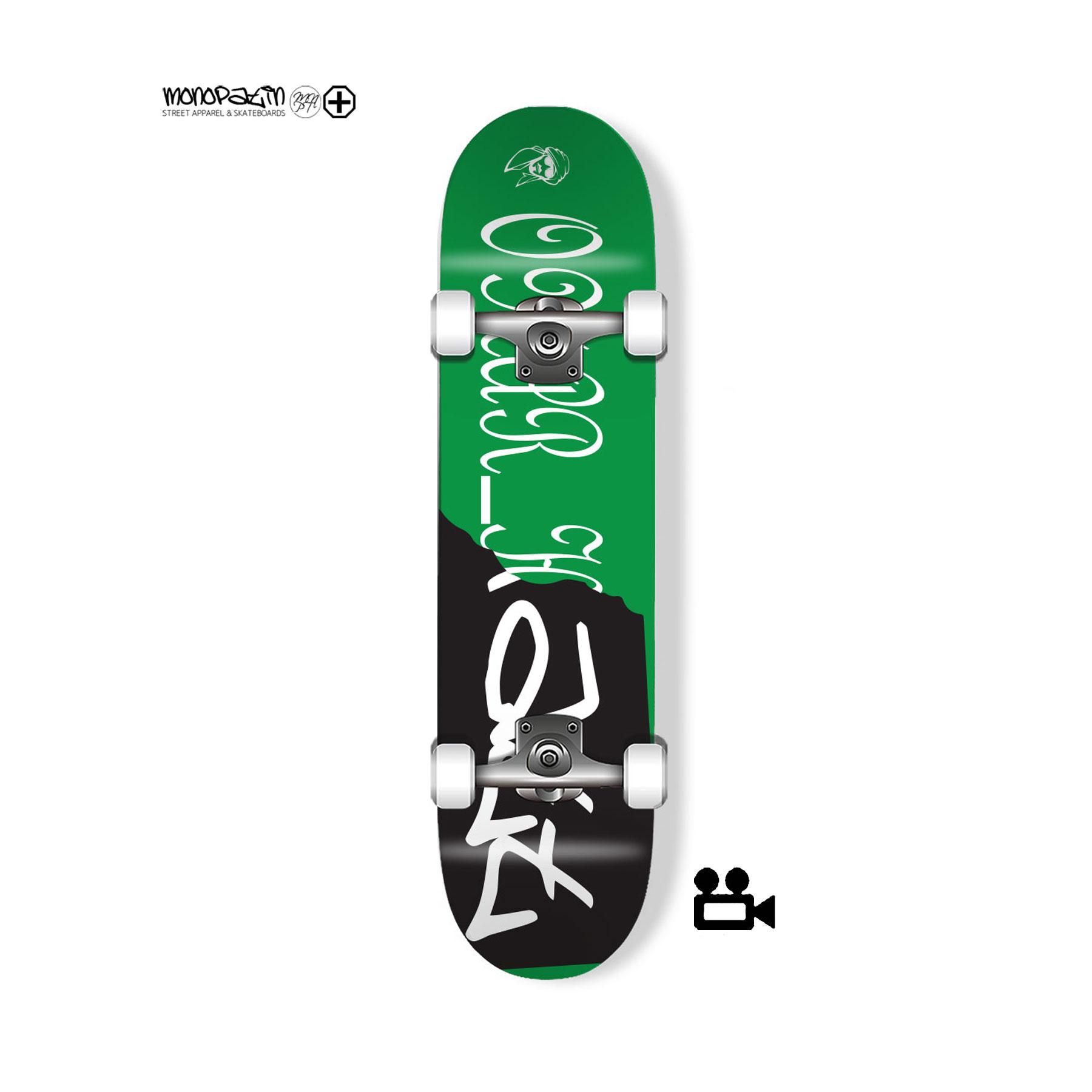 """omar_hatt"" signature 컴플릿 스케이트보드"