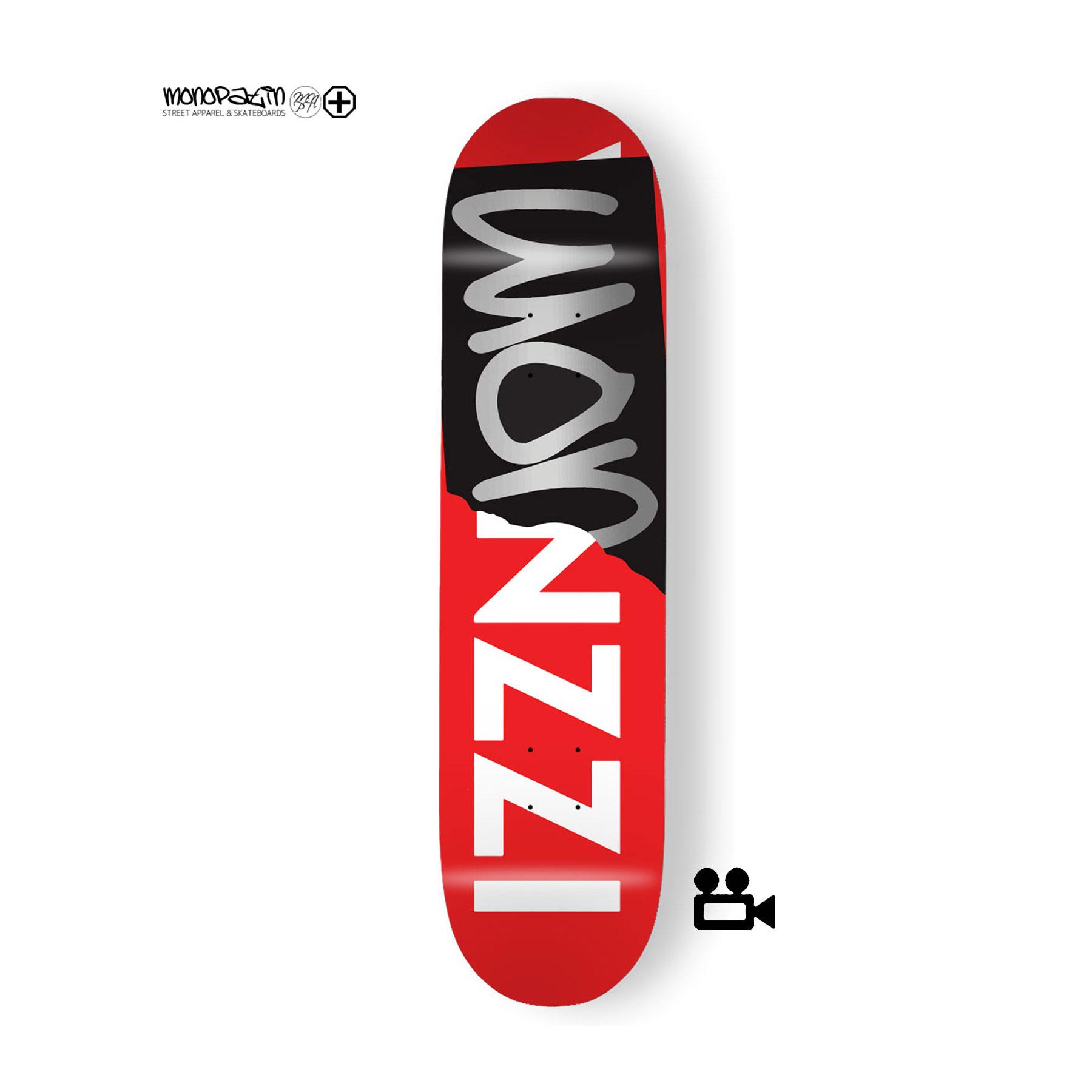 """wonzzi"" signature 스케이트보드 데크"