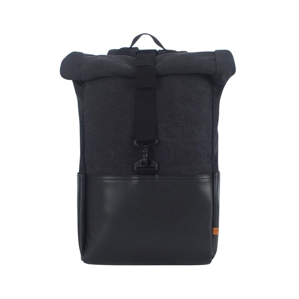퀄팩 캔버스 노트북백팩 QP1002