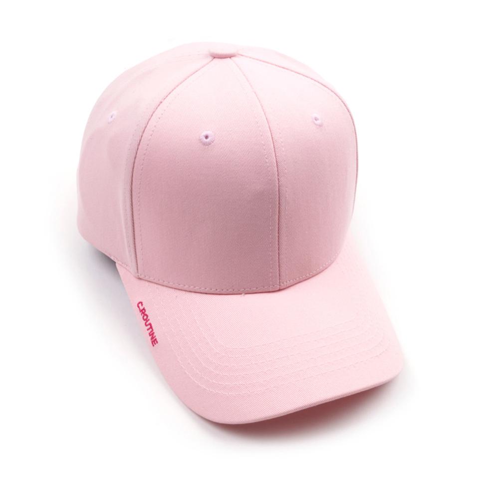 [단독할인]베이직 볼캡_핑크