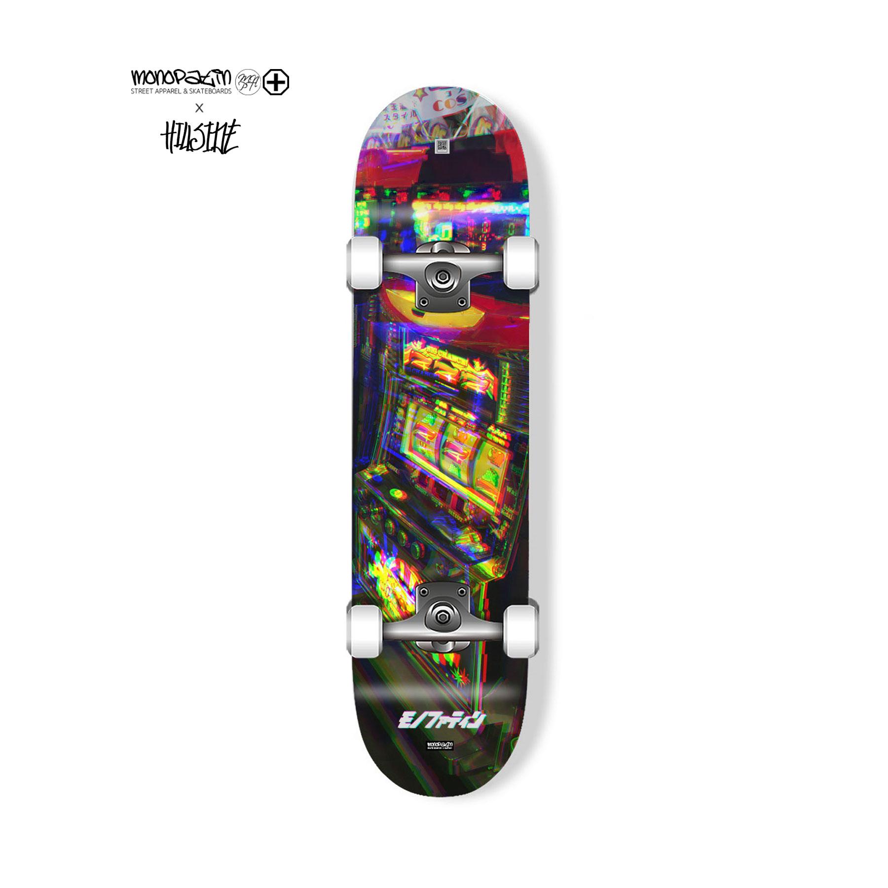 monopatin x hillside collaboration slot machine 컴플릿 스케이트보드