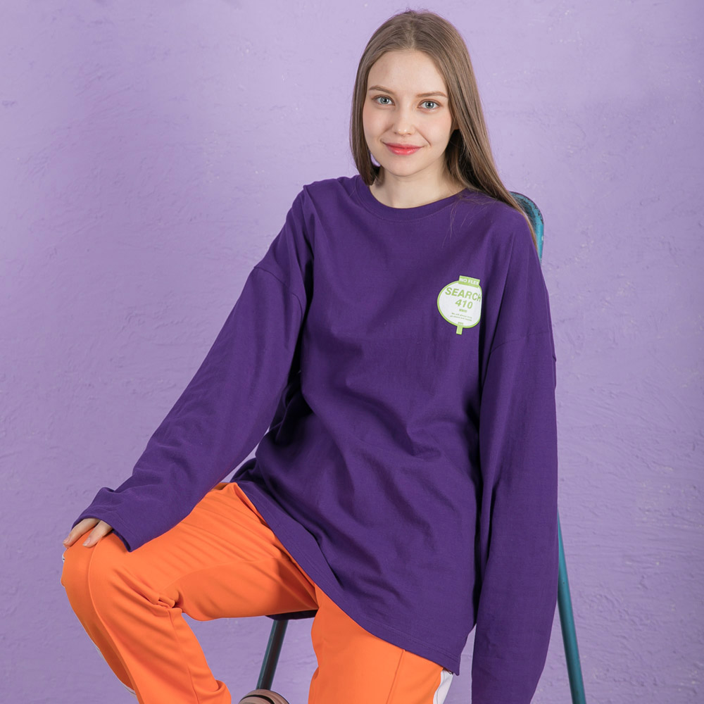 BEYOND LONG SLEEVE_VIOLET