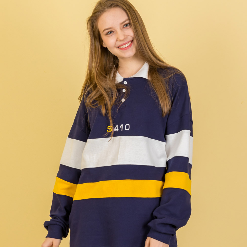TRIPLE RUGBY T-SHIRT_NAVY