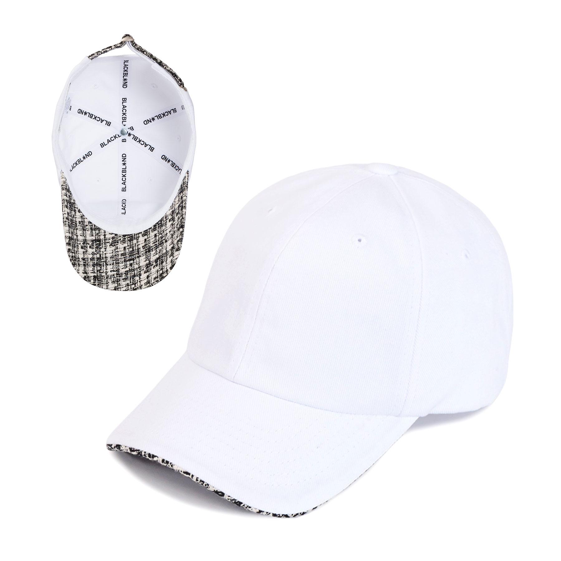 BBD Street Tweed Cap (White)