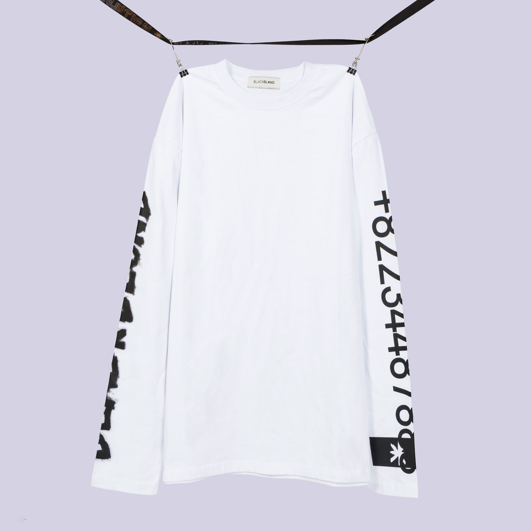 BBD Graffiti Number Tee (White)