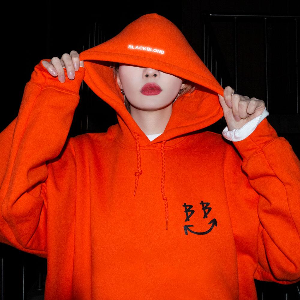 BBD Smile Logo Hoodie (Orange)