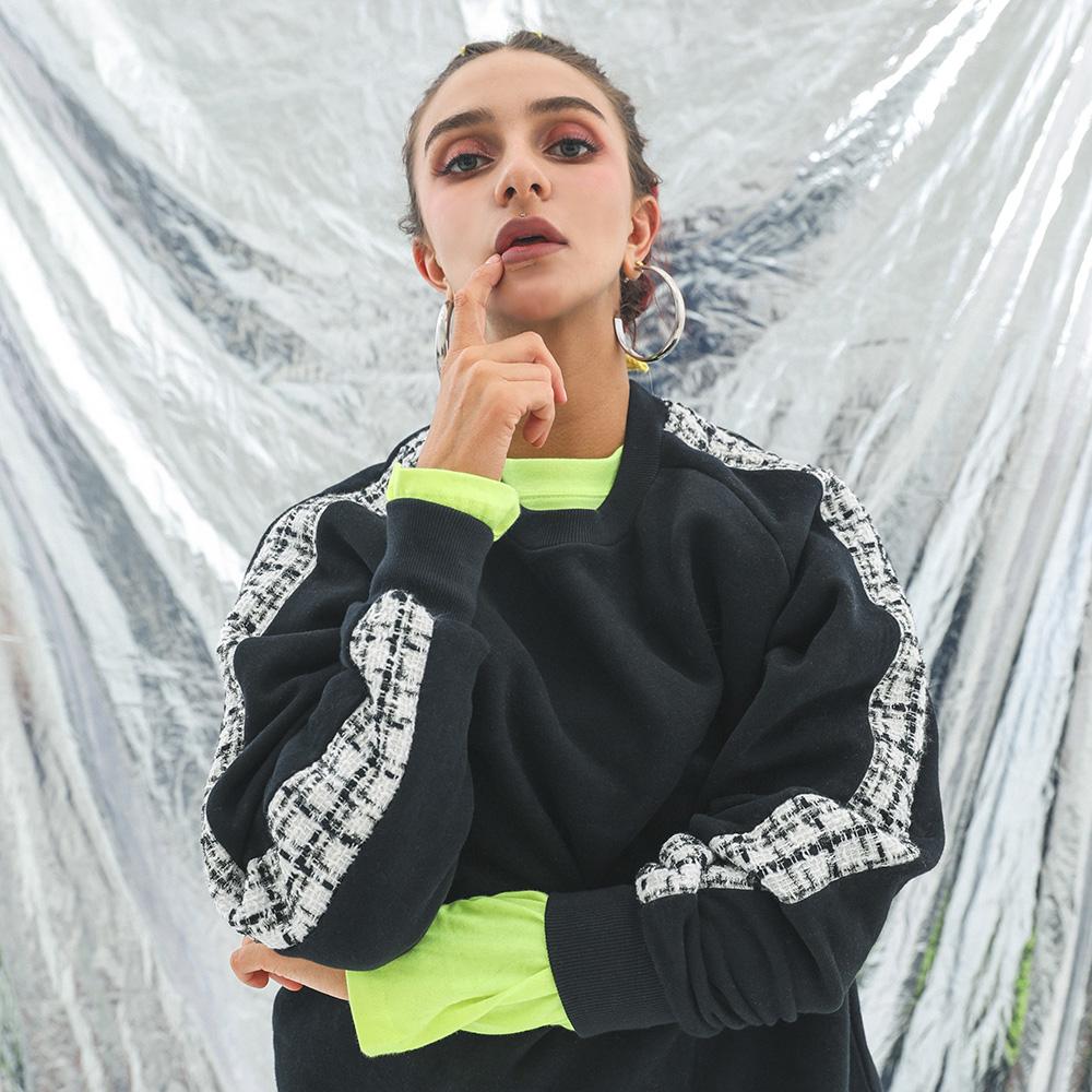 BBD Tweed Sweatshirt Ver.1 (Black)