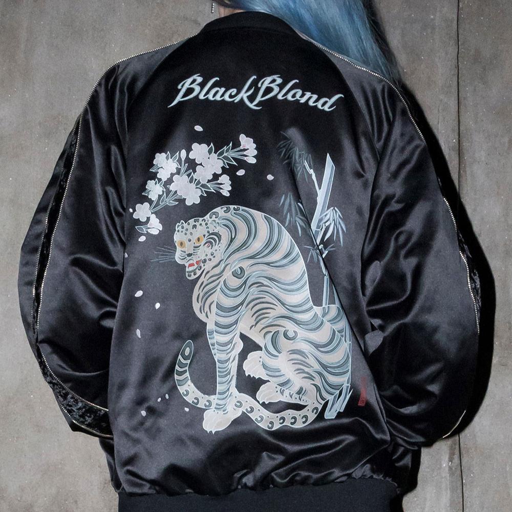 BBD Union Twofold Sukajan Jacket (Black)