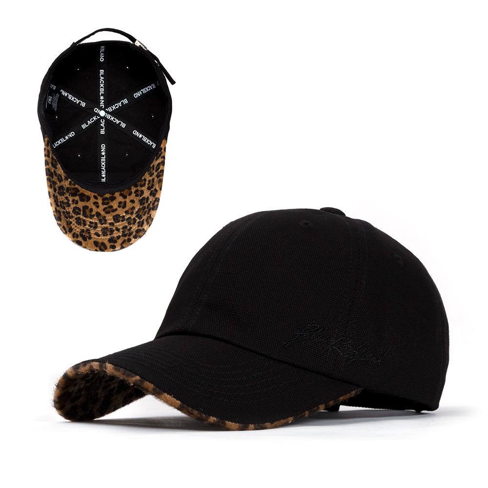 BBD Script Logo Calf Leopard Cap (Black/Brown)