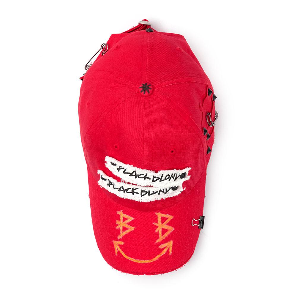 BBD Big Smile Patch Logo Cap (Red)