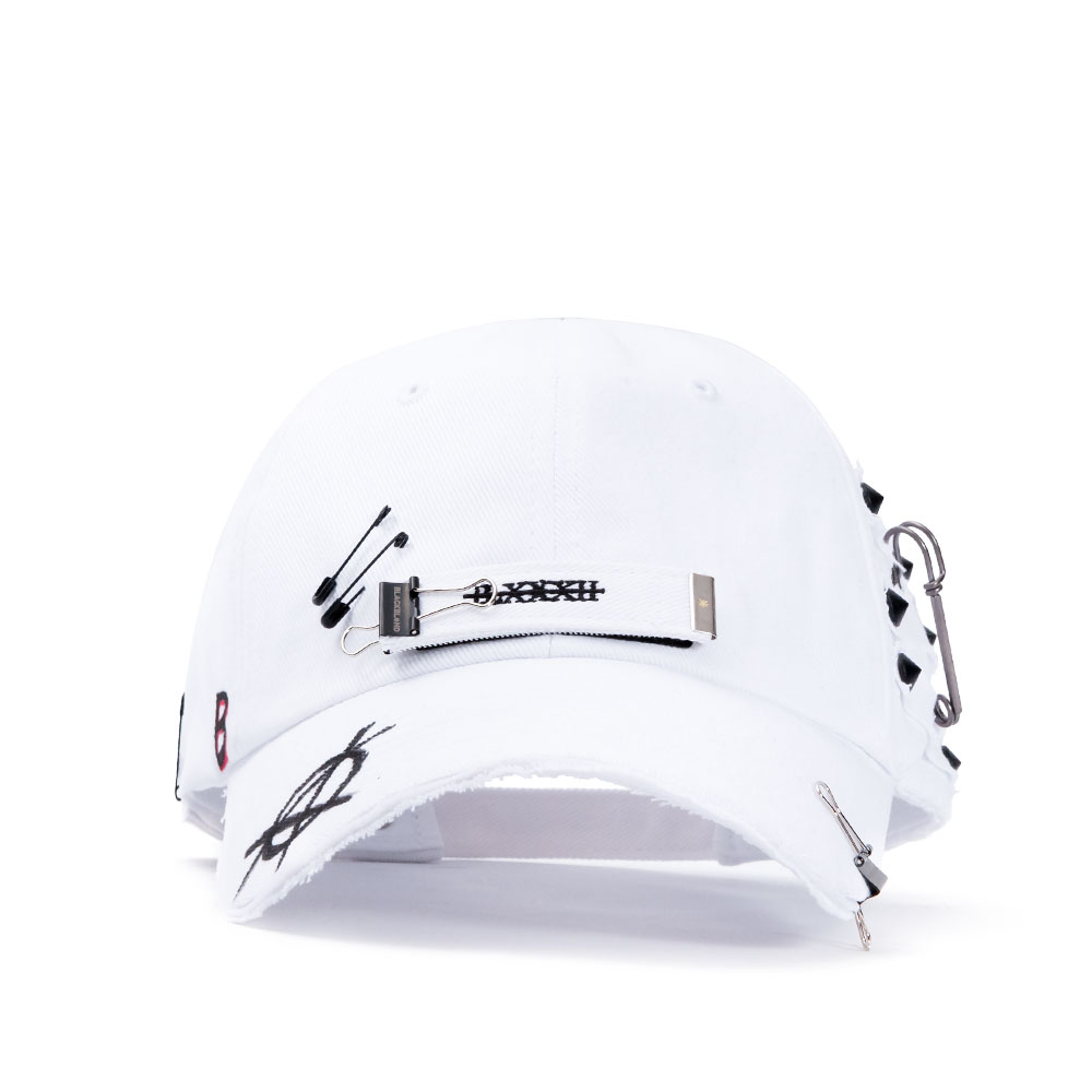 BBD Stump of Long Strap Cap (White)