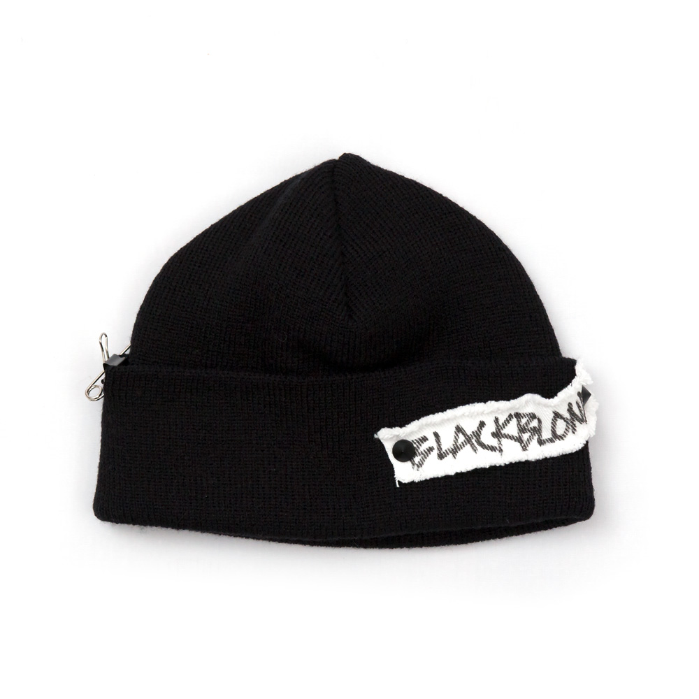 BBD Side Patch Short Beanie (Black)