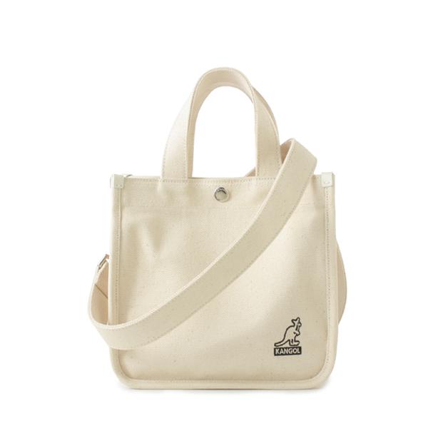 Canvas Tote Bag Mini 3727 IVORY