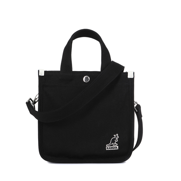 Canvas Tote Bag Mini 3727 BLACK