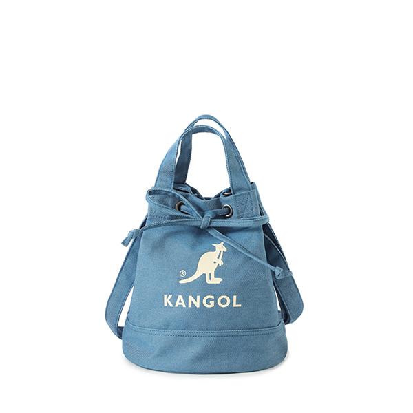 Alice Canvas Bucket Bag 3738 DEEP WATER BLUE