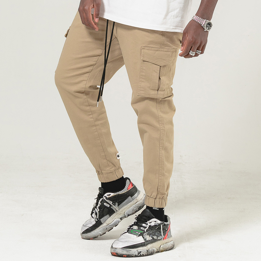 BBD Basic Cargo Jogger Pants (Beige)