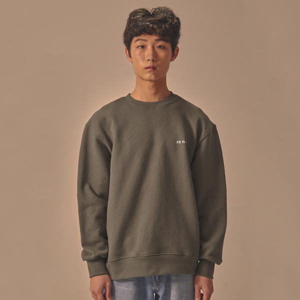 CODING SWEATSHIRT_KHAKI BROWN