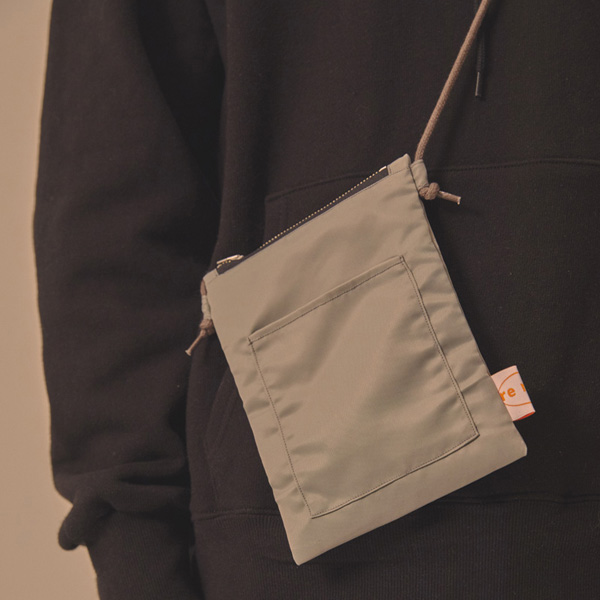 MINI SQUARE CROSS BAG_LIGHT GREY