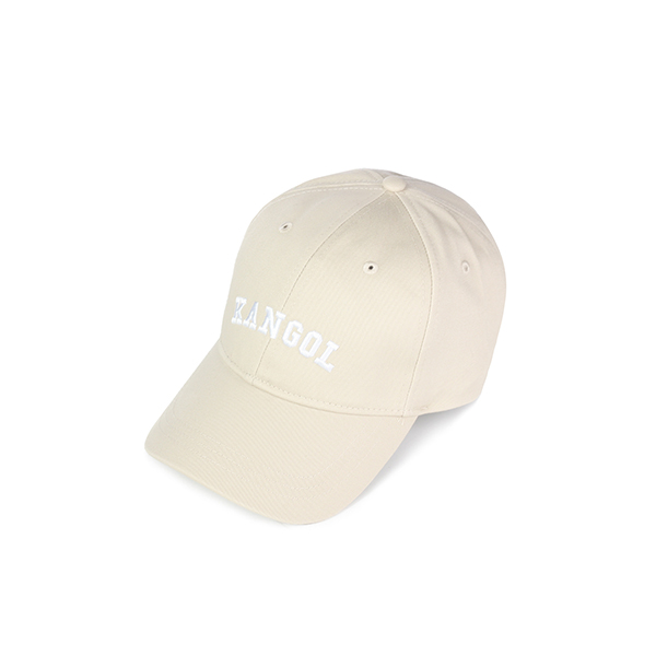 Kangol Word Logo Baseball 4259 BEIGE