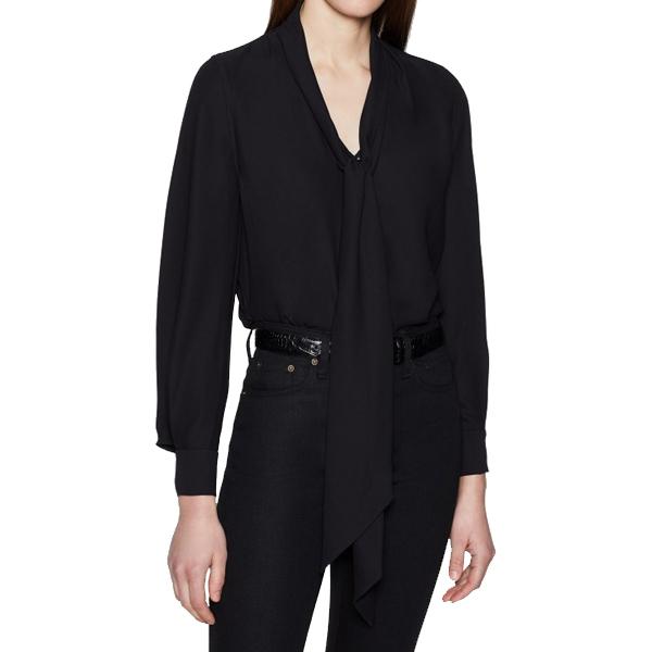 이큅먼트 HATY 셔츠 블랙 19-1-004816-TP02704