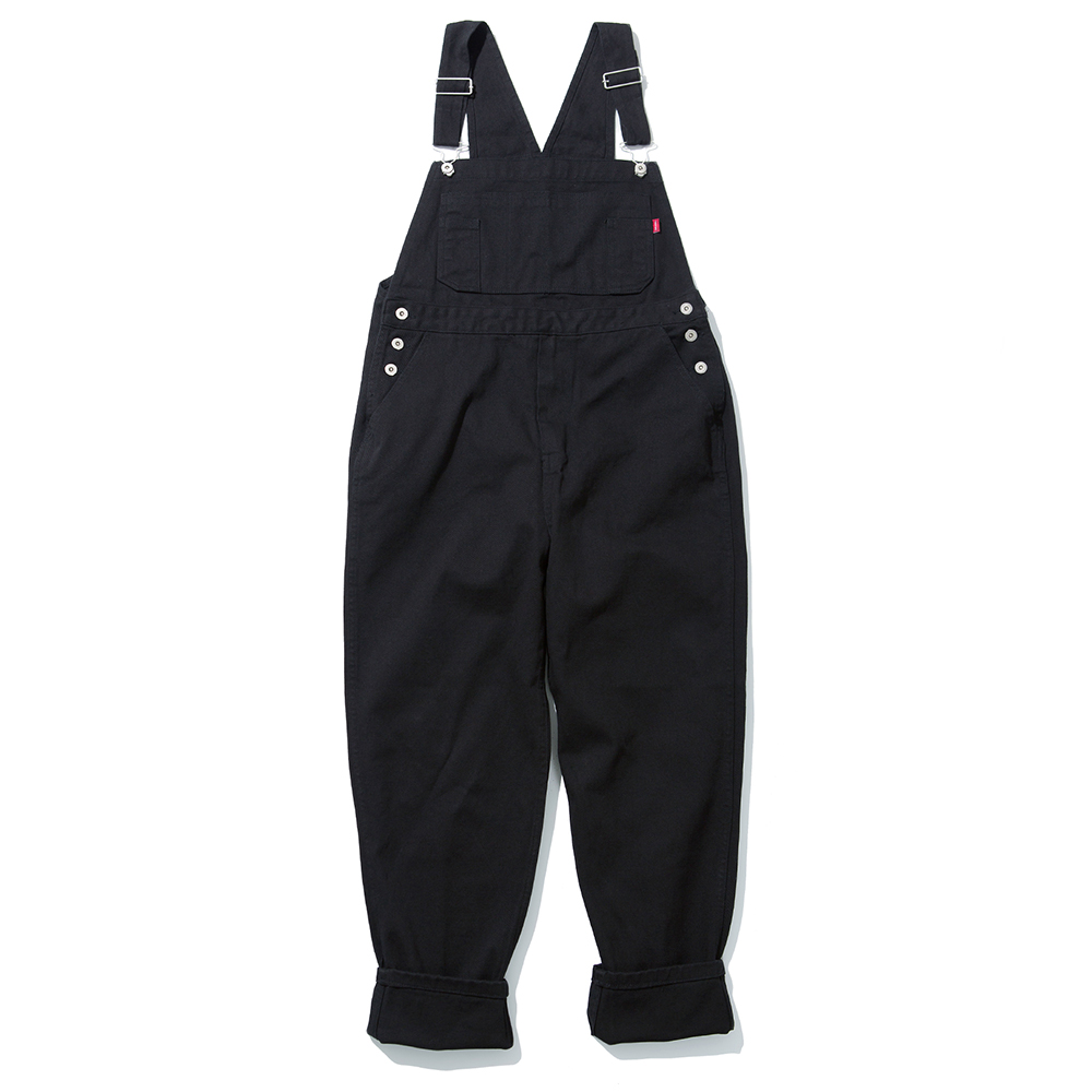 19SS COTTON OVERALL (BLACK)