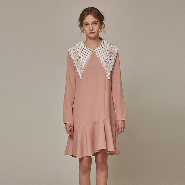 LC COLLAR FRILL OPS_PINK