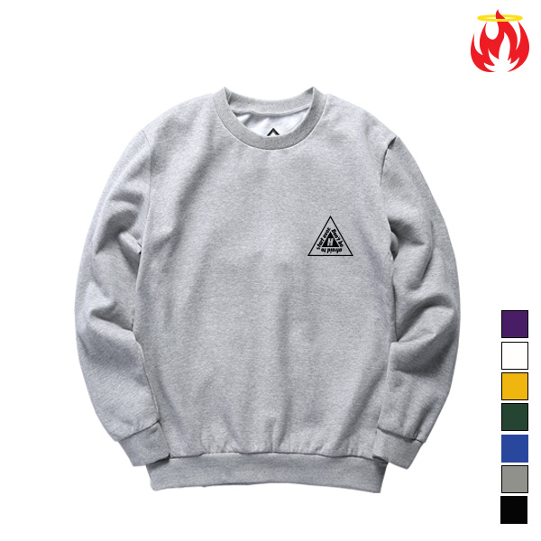 Double Triangle Hellvn Sweatshirts - 맨투맨 (SBMH8S-032)