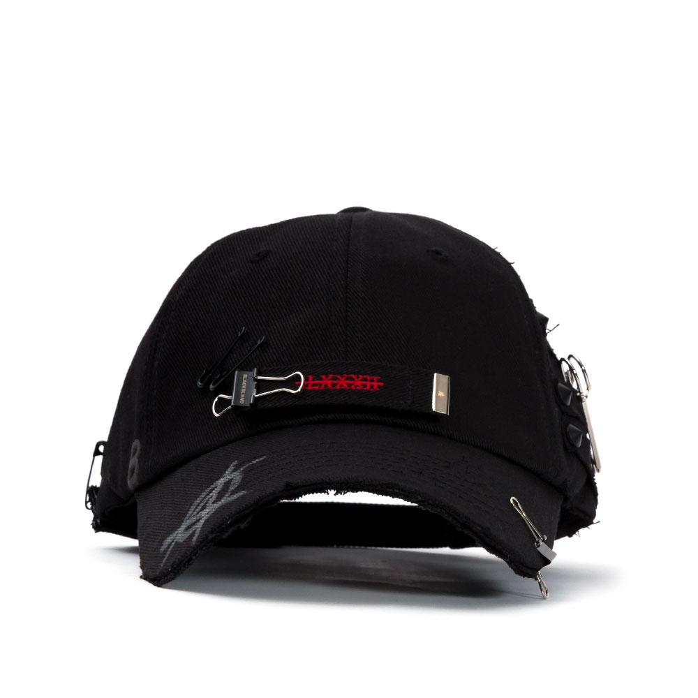 BBD Stump of Long Strap Cap (Black)