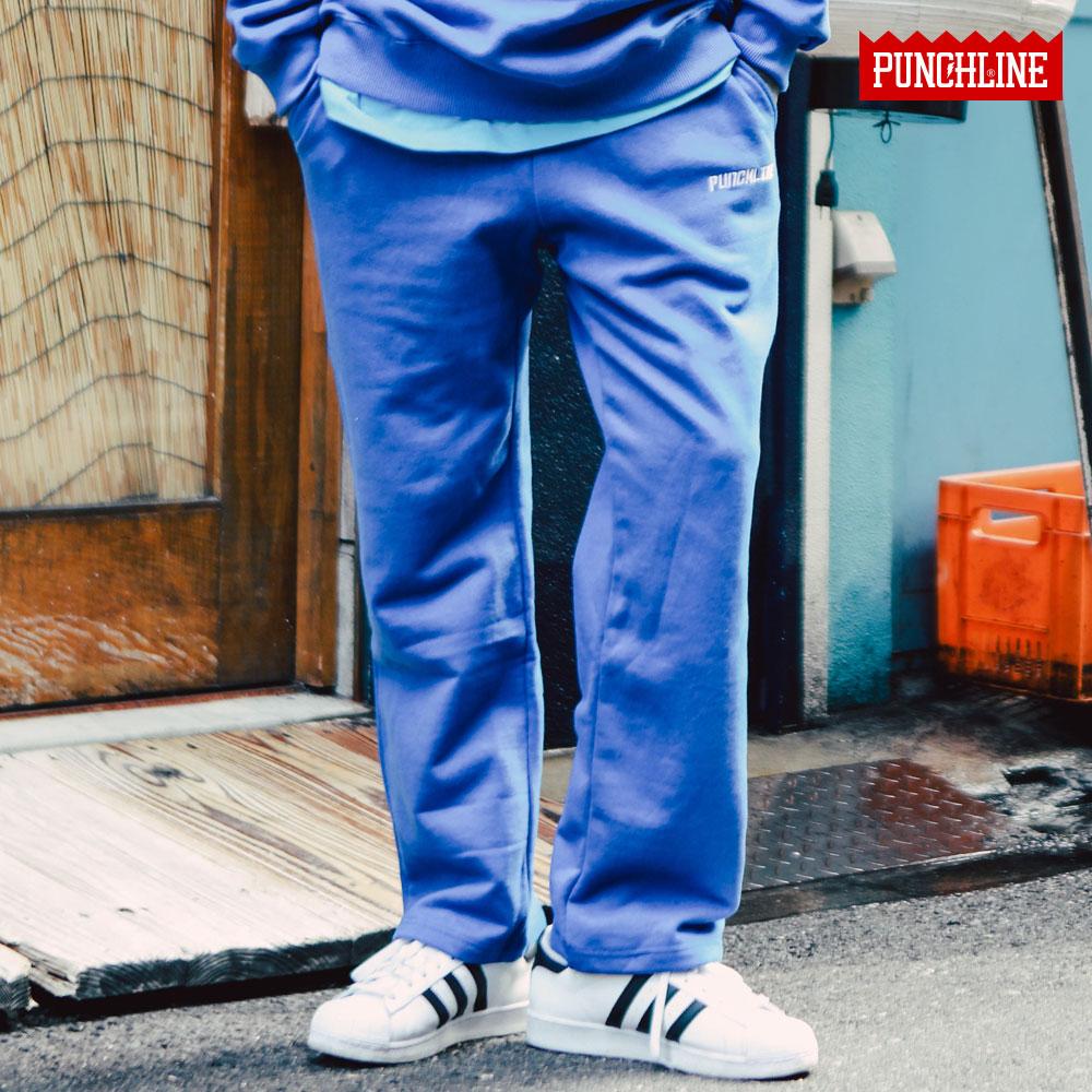 [펀치라인] 백포켓 트레이닝팬츠 파랑 KHLP6113