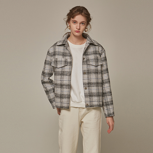 CLASSIC HOUND CH JACKET_GRAY