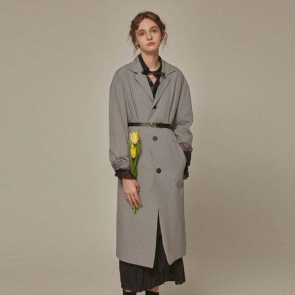 OVER HOUND CH LONG COAT_GRAY