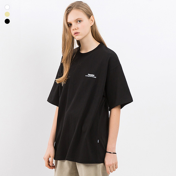 [크루비단독]프롬에이투비 반팔 티셔츠 TOB19ST007 스피디 굳 오버핏 티셔츠