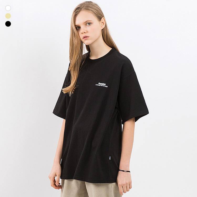 프롬에이투비 반팔 티셔츠 TOB19ST007 스피디 굳 오버핏 티셔츠