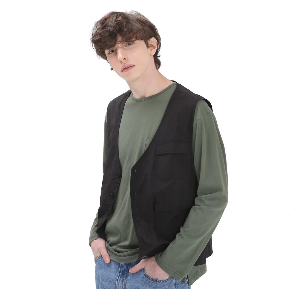 powit Pocket Vest(Black)