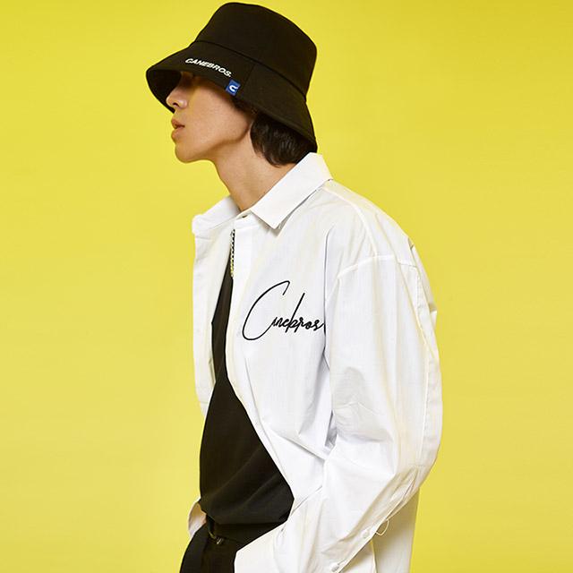 [블프가][단독할인][CB] 카네브로스 로고 셔츠_WH