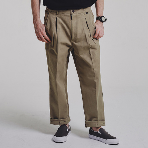 HBT wide pants_BEIGE
