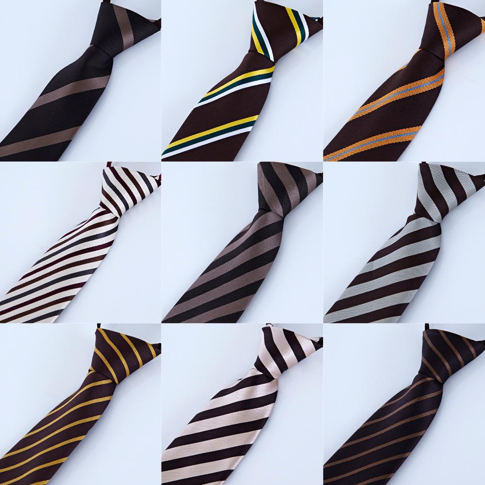 넥타이 시즌8 브라운계열 (9 Colors) 넥타이 교복타이