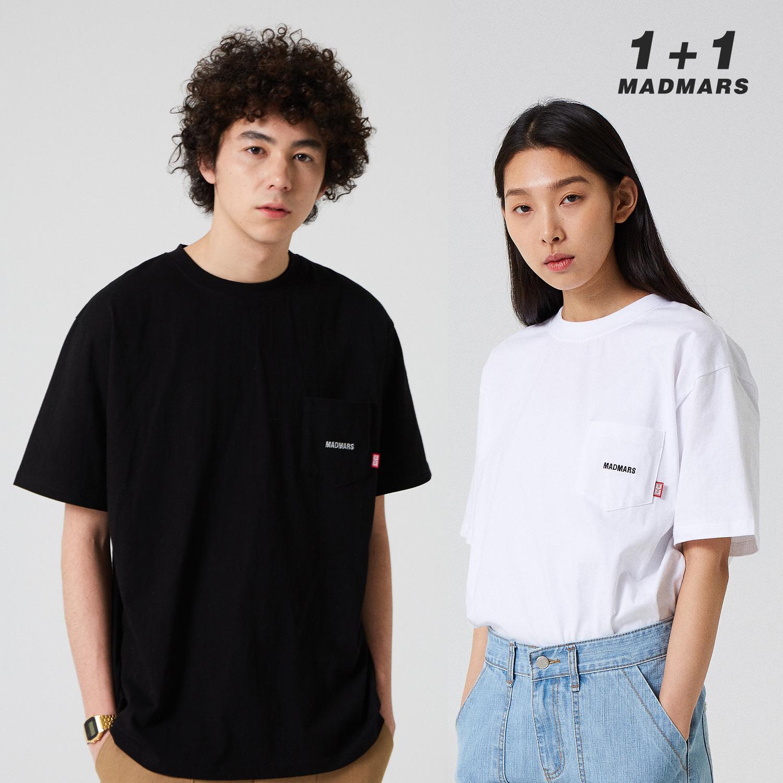 1+1 매드마르스 로고 티셔츠