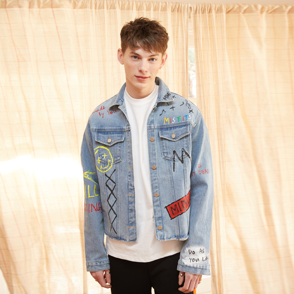 [unisex] M denim jacket