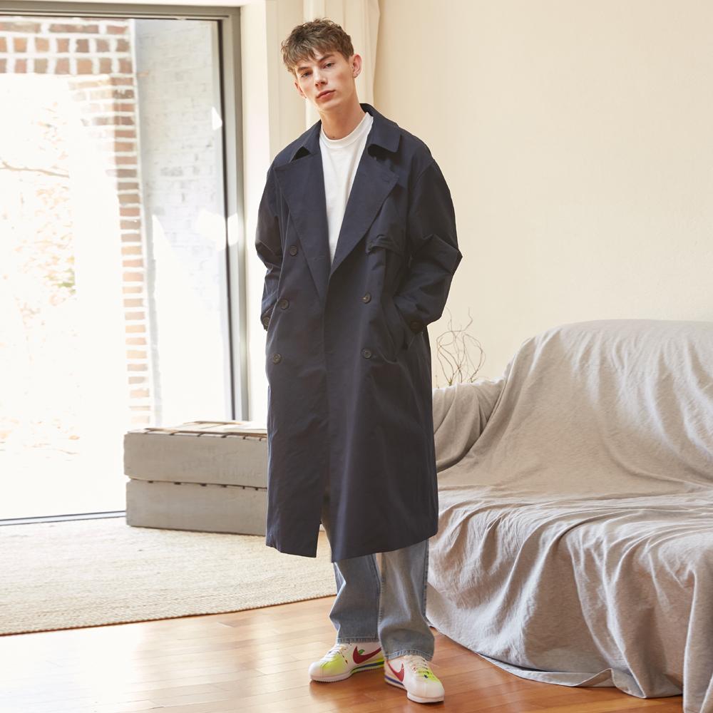 [단독할인][unisex] put up coat (navy)