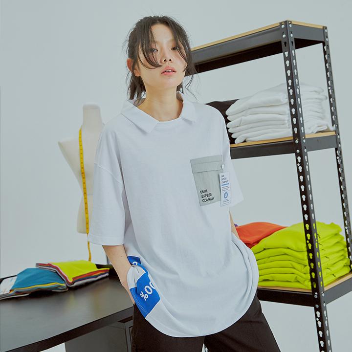 유엠엠 오피스 포켓 카라티 / 화이트